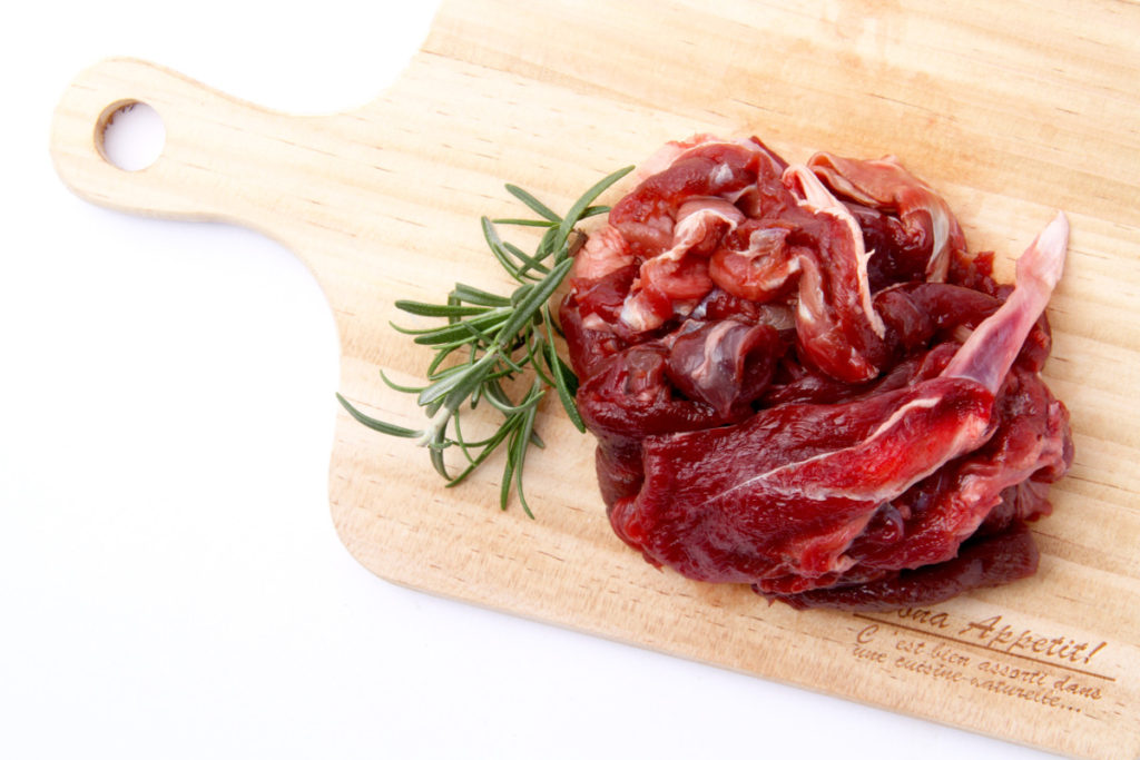 raw.fresh.venison.meet